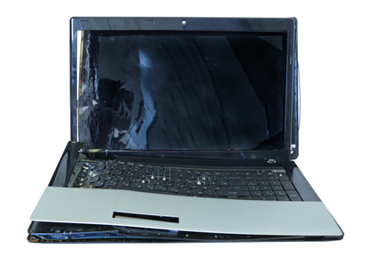 Broken laptop